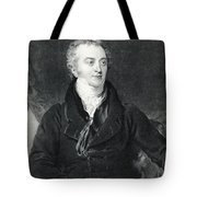 Thomas Young, English Polymath Tote Bag by Photo Researchers