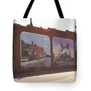 Thomasville Painted Wall Tote Bag