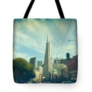 Those Sunny Downtown Days Tote Bag