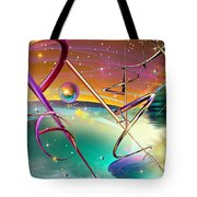 Thoughts And Threads Tote Bag