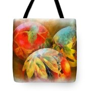 Three Balls - Watercolor Tote Bag