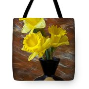 Three Daffodils Tote Bag
