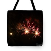 Three Explosions Tote Bag