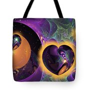 Three Hearts Tote Bag