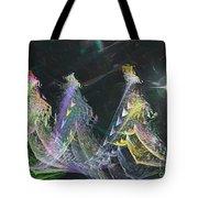 Three Kings Moon Star Tote Bag