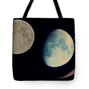 Three Moon Tote Bag
