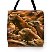 Three Pups Tote Bag