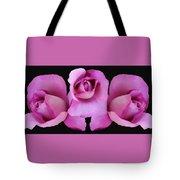 Three Roses Painterly Tote Bag