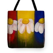 Three Times A Daisy Tote Bag