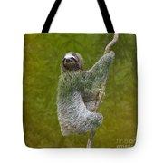 Three-toed Sloth Climbing Tote Bag