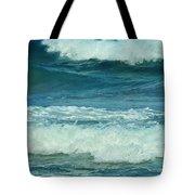 Three Waves Tote Bag
