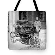 Three-wheel Automobile Tote Bag