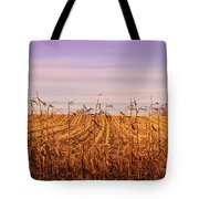 Through The Cornfield Tote Bag