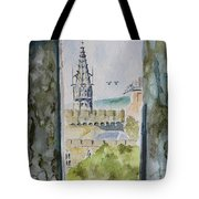 Through The Eyes Of The Prisoner Tote Bag