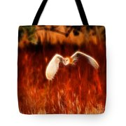 Through The Fire Tote Bag