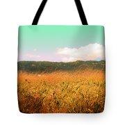 Through The Grasses Tote Bag