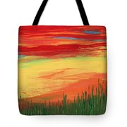 Through The Looking Grass Tote Bag