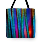 Through The Trees Tote Bag by Judi Bagwell