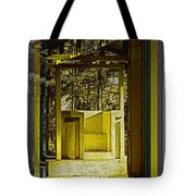 Through Time And Memory Tote Bag