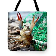 Crab Throw Me Something Mister Tote Bag