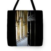 Thru The Chapel Door Tote Bag