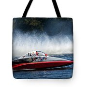 Thunder At The Lake Tote Bag