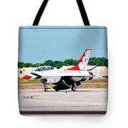Thunderbirds 3d Tote Bag