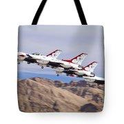 Thunderbirds Gear Up Tote Bag