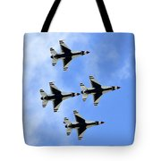 Thunderbirds In Flight Tote Bag