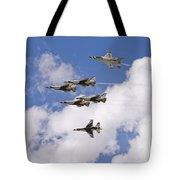 Thunderbirds Solos Break Tote Bag