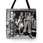 Thundering Taxi, 1933 Tote Bag