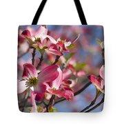 Tickled Pink Dogwood Tote Bag