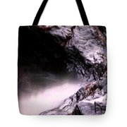 Tides In Sunset Tote Bag