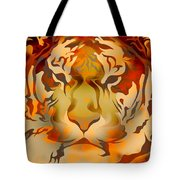 Tiger Illustration Tote Bag
