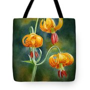 Tiger Lilies #3 Tote Bag