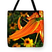 Tiger Lily Bud And Bloom Tote Bag