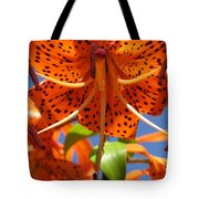 Tiger Lily Close Up Tote Bag