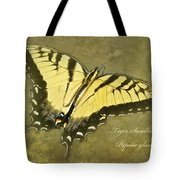 Tiger Swallowtail Butterfly - Papilio Glaucas Tote Bag