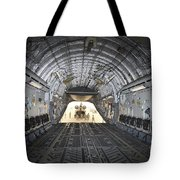 Tikrit, Iraq - A Ch-47 Chinook Tote Bag