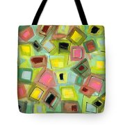 Tilted Boxes Tote Bag