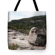Tilted Rock Tote Bag