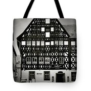 Timber-frame House Weimar Tote Bag by Christine Till