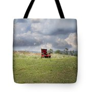 Time Alone Tote Bag by Betsy Knapp