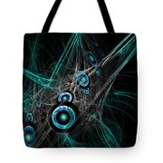 Time And Dimension Tote Bag