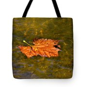 Time Floating Away Tote Bag