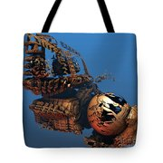 Time Machine A Long Journey Home Tote Bag