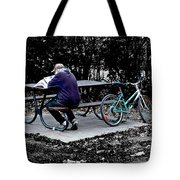 Time Off Tote Bag