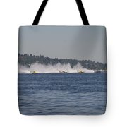Time To Race Tote Bag