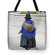 Time Walker Tote Bag