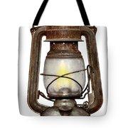 Time Worn Kerosene Lamp Tote Bag